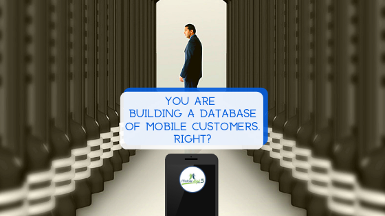 The importance of building a database of mobile customers.